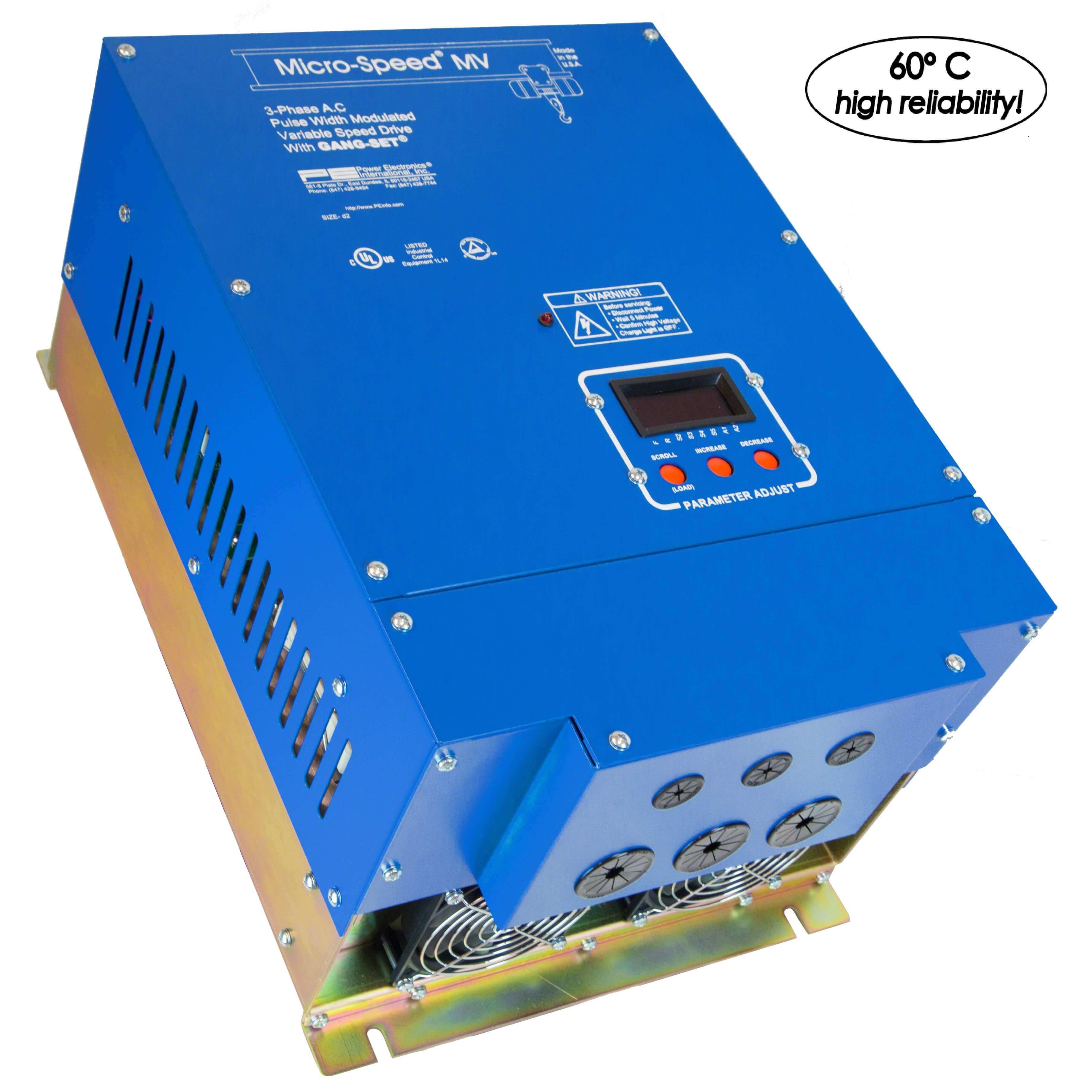 Micro Speed Multi Vector (1-600+HP) (Power Elec.)