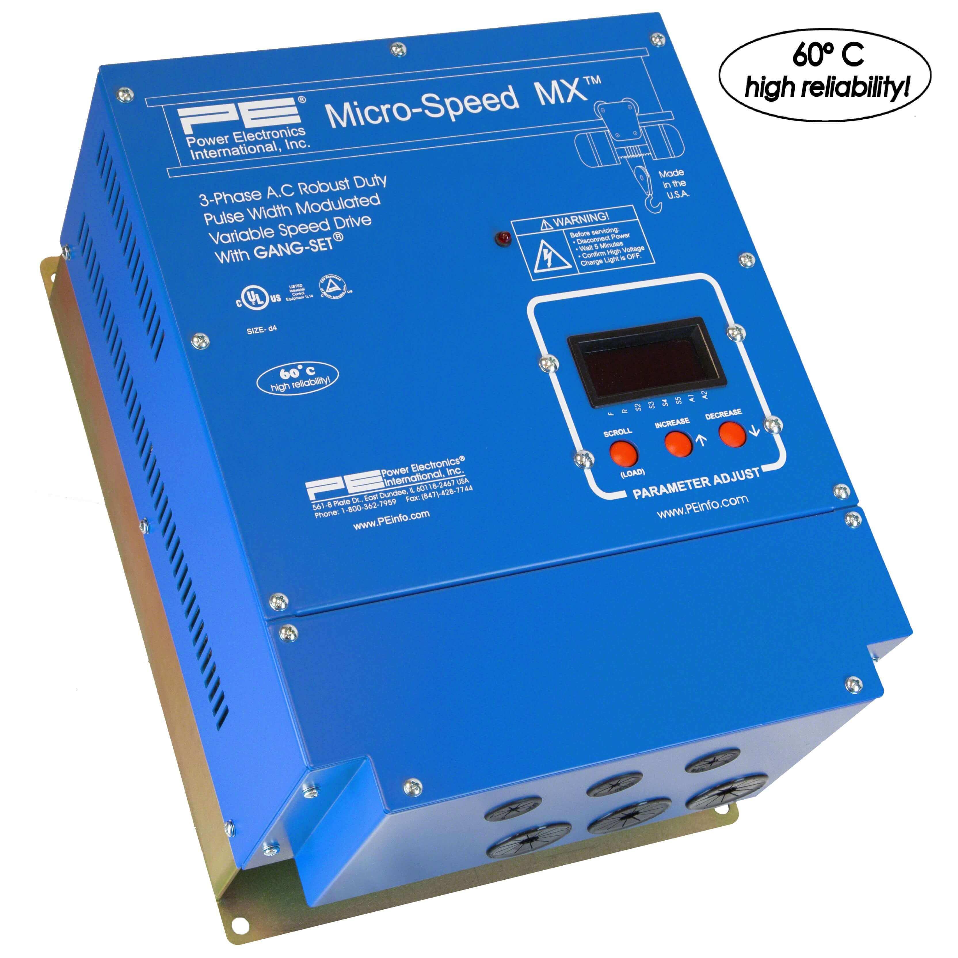 Micro-speed MX (1-600HP) (Power Elec.)