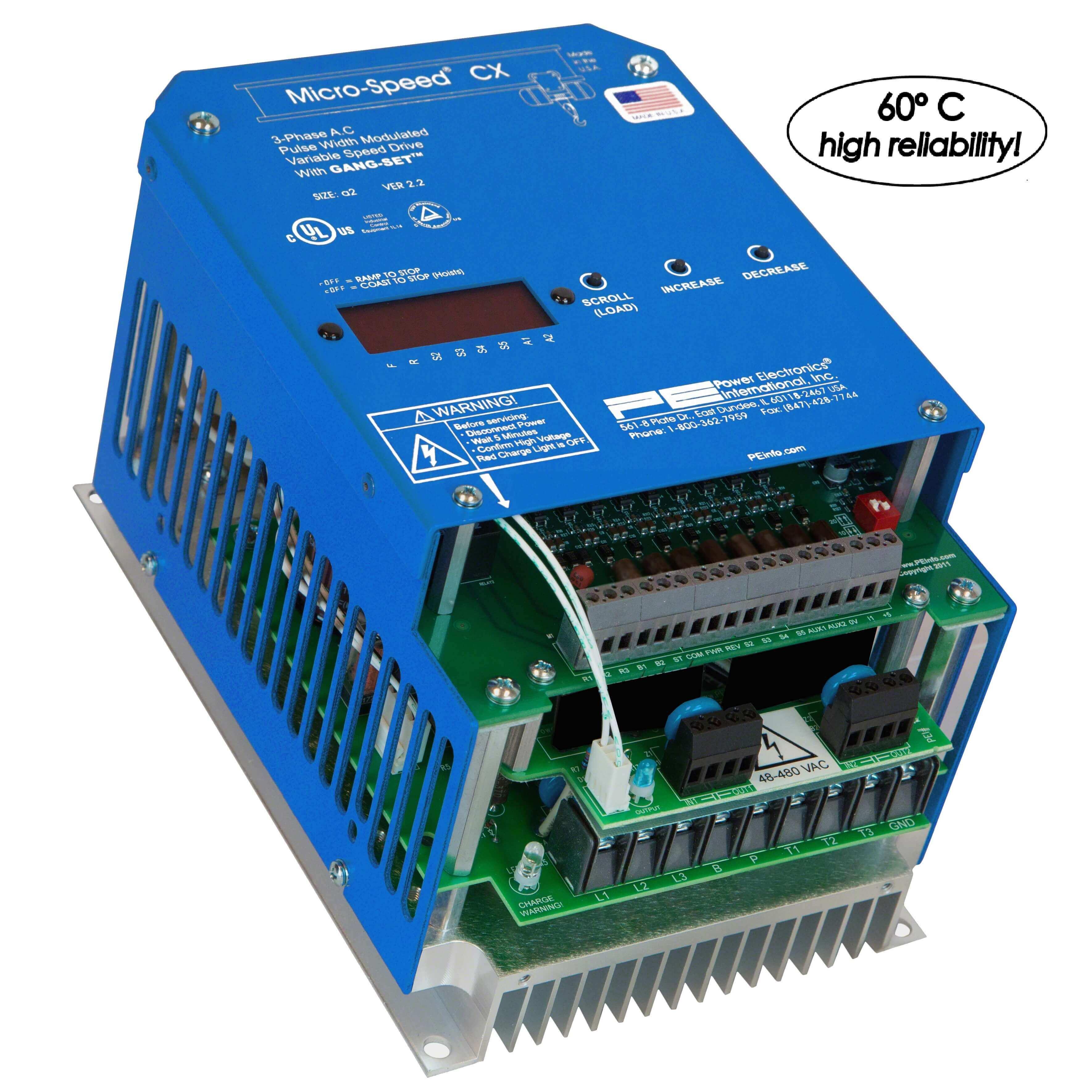 MicroSpeed CXRP (1-5HP) (Power Elec.)