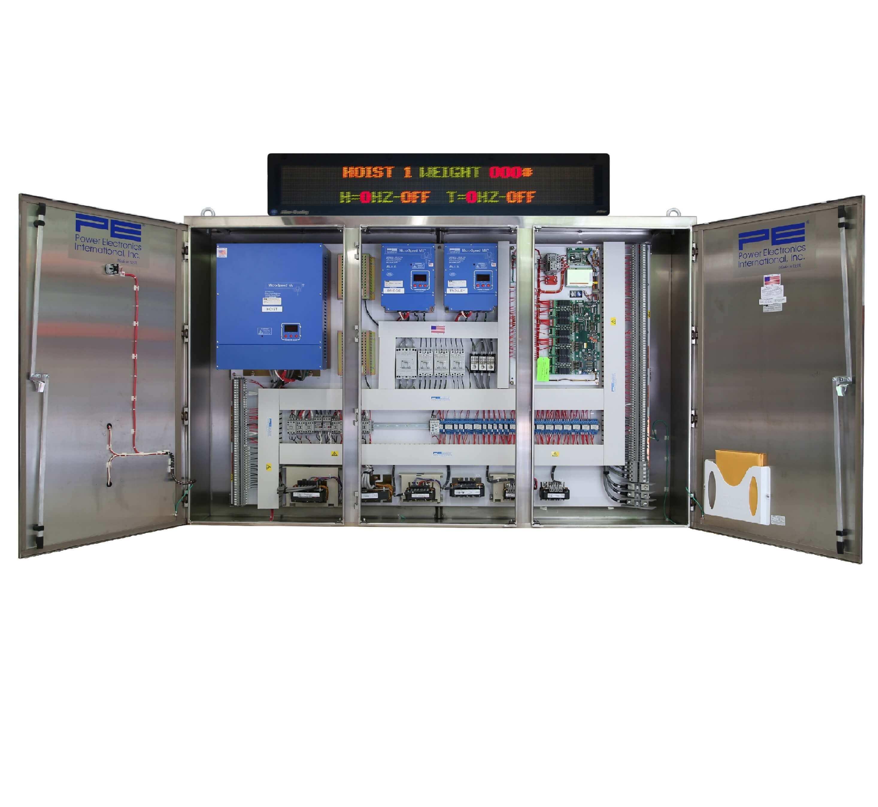 Multiple-Motion Control Panels (Power Elec.)